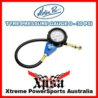 "Motion Pro Professional Tyre Pressure Gauge 2-1/2"" 0-30 Psi Tire 08-080258"