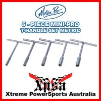 "Motion Pro Mini-Pro T-Handle Set 8,10,12,13,14mm Compact 6-3/4"" Length 08-080340"