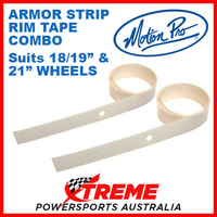 MP Armor Rim Strip Tape for 18-19 & 21 Inch Wheels Motorcycle Bundle 11-0061/62