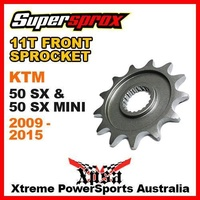 SUPERSPROX FRONT SPROCKET 11T 11 TOOTH 50SX 50 SX SX50 MINI 2009-2015 MX BIKE