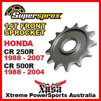 SUPERSPROX FRONT SPROCKET 14T 14 TOOTH CR 250R CR250R 88-07 CR500R 500R 88-04 MX