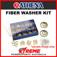 400 Piece Fibre Washer Kit in plastic moulded case
