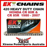 EK MX HEAVY DUTY 420 GREY CHAIN HONDA CR 80R 85R CR80R CR85R 1980-2007 MOTOCROSS