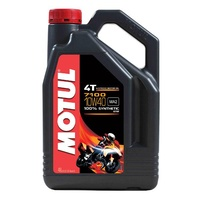 Motul 7100 Fully Synthetic 10W40 4T 4-Stroke 4 Litres Motorcycle Engine Oil 16-420-04