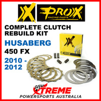 ProX Husaberg 450FX 450FX 2010-2012 Complete Clutch Rebuild Kit 16.CPS64010