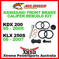 Front Brake Caliper Rebuild Kit KDX200 1995-2005 KLX250S 250S 2006-2007, All Balls 18-3005
