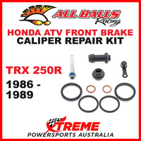18-3007 HONDA ATV TRX250R 1986-1989 FRONT BRAKE CALIPER REBUILD KIT