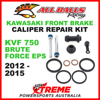 18-3009 Kawasaki ATV KVF 750 Brute Force EPS 2012-2015 Front Brake Caliper Rebuild Kit
