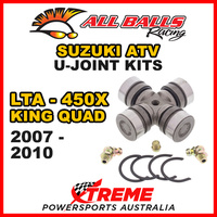 19-1001 Suzuki LTA-450X King Quad 2007-2010 All Balls U-Joint Kit