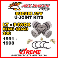 19-1001 Suzuki LT-F4WDX King Quad 300 1991-1998 All Balls U-Joint Kit