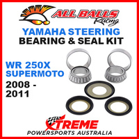 22-1001 STEERING HEAD STEM BEARING KIT YAMAHA WR250X WR 250X SUPERMOTO 2008-2011