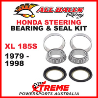 22-1002 Honda XL185S XL 185S 1979-1998 Steering Head Stem Bearing & Seal Kit
