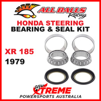 22-1002 Honda XR185 XR 185 1979 Steering Head Stem Bearing & Seal Kit