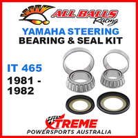 ALL BALLS 22-1004 STEERING HEAD STEM BEARING KIT YAMAHA IT465 IT 465 1981-1982