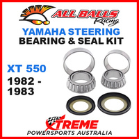 ALL BALLS 22-1004 STEERING HEAD STEM BEARING KIT YAMAHA XT550 XT 550 1982-1983