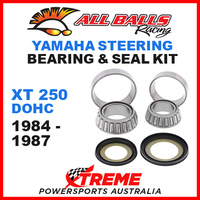 22-1004 STEERING HEAD STEM BEARING KIT YAMAHA XT250 XT 250 DOHC 1984-1987