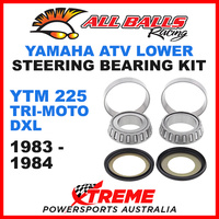 22-1007 Yamaha YTM225 Tri-Moto DXL 1983-1984 ATV Lower Steering Stem Kit