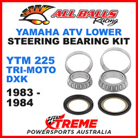 22-1008 Yamaha YTM225 Tri-Moto DXK 1983-1984 ATV Lower Steering Stem Kit
