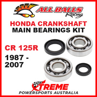 All Balls 24-1003 Honda CR125R CR 125R 1987-2007 Crankshaft Main Bearings