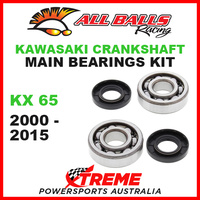 All Balls 24-1006 Kawasaki KX 65 KX65 2000-2015 Crankshaft Main Bearings MX