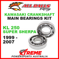 24-1059 Kawasaki KL 250 Super Sherpa 1999-2007 Crankshaft Main Bearings MX