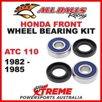 Front Wheel Bearing Kit Honda ATV ATC110 ATC 110 110cc 1982-1985, All Balls 25-1317