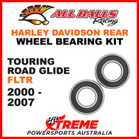 All Balls 25-1394 HD Touring Road Glide FLTR 2000-2006 Rear Wheel Bearing Kit