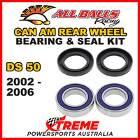 25-1396 ATV REAR WHEEL BEARING KIT CAN AM DS50 DS 50 2002-2006