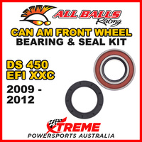 25-1516 CAN AM ATV Ds450 EFI XXC 2009-2012 ATV Front Wheel Bearing Kit