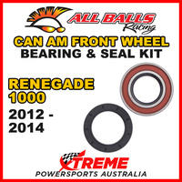 ALL BALLS 25-1516 ATV FRONT WHEEL BEARING KIT CAN AM RENEGADE 1000 2012-2014