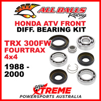 25-2001 HONDA TRX350FW FOURTRAX 4X4 1988-2000 ATV FRONT DIFFERENTIAL BEARING KIT