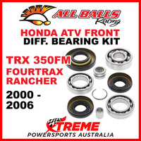 25-2003 HONDA TRX350FM FOURTRAX RANCHER 2000-2006 FRONT DIFFERENTIAL BEARING KIT