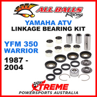 27-1002 Yamaha YFM 350 Warrior 1987-2004 Linkage Bearing & Seal Kit