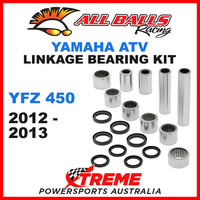 27-1139 Yamaha YFZ 450 YFZ450 2012-2013 Linkage Bearing & Seal Kit