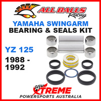 All Balls 28-1071 Yamaha YZ125 YZ 125 1988-1992 Swingarm Bearing Kit