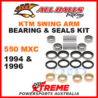 ALL BALLS 28-1087 MX SWINGARM BEARING KIT KTM 550MXC 550 MXC 1994 1996 OFF ROAD