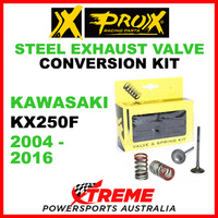 ProX Kawasaki KX250F KXF250 2004-2016 Steel Exhaust Valve & Spring Upgrade Kit