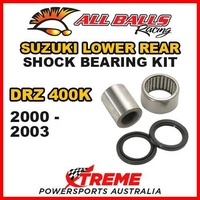 Lower Rear Shock Bearing Kit Suzuki DRZ400K DRZ 400K DR-Z400K 2000-2003, All Balls 29-5024