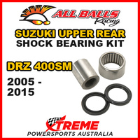 Upper Rear Shock Bearing Kit Suzuki DRZ400SM DRZ 400SM DR-Z400SM 05-2015, All Balls 29-5054