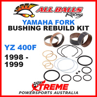 ALL BALLS 38-6010 MX OFF ROAD FORK BUSHING KIT YAMAHA YZ400F YZF400 1998-1999