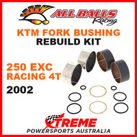 38-6053 KTM 250EXC 250 EXC Racing 4T 2002 MX Fork Bushing Rebuild Kit Dirt Bike