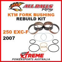 38-6054 KTM 250EXC-F 250 EXC-F  2007 MX Fork Bushing Rebuild Kit Dirt Bike