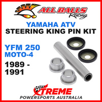 All Balls 42-1004 Yamaha YFM250 Moto-4 1989-1991 Steering King Pin Kit