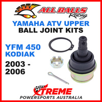 42-1009 Yamaha YFM450 YFM 450 Kodiak 2003-2006 ATV Upper Ball Joint Kit