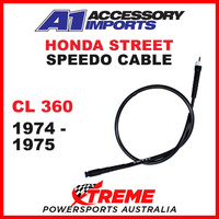 A1 Powerparts Honda CL360 CL 360 1974-1975 Speedo Cable 50-461-50