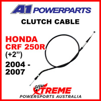 "A1 Powerparts Honda CRF250R CRF 250R 2004-2007 Clutch Cable +2"" 50-MEB-20"