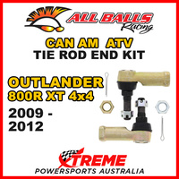 All Balls 51-1009 Can Am Outlander 800R XT 4x4 2009-2012 Tie Rod End Kit