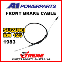 A1 Powersports For Suzuki RM125 RM 125 1983 Front Brake Cable 52-038-30