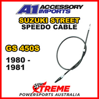 A1 Powerparts For Suzuki GS 450S 1980-1981 Speedo Cable 52-473-50