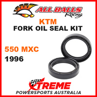 All Balls 55-135 KTM 550MXC 550 MXC 1996 Fork Oil Seal Kit 45x58x11